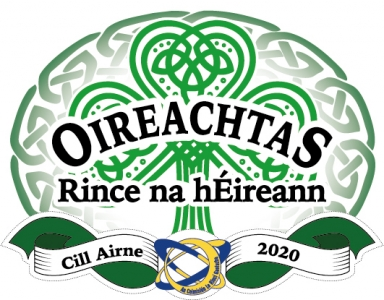 All Irelands 2020 Official Logo Fading